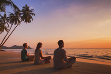Yoga Retreat On The Beach At S...