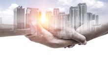 Help Hands Holding Together