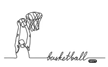 Basketball Player Banner, Illu...