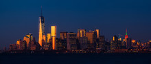 Panorama View Of Manhattan Sk...