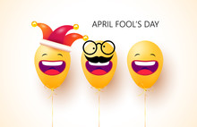 April Fool's Day. Happy Face E...