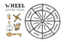 Wiccan Wheel Of The Year Conce...