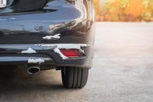 Cracked Rear Bumper