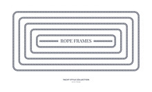Nautical Rope Frames And Bordes