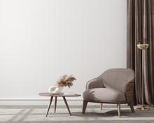 Modern Home Interior Backgroun...