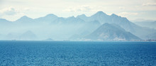 Picturesque Landscape With Sea...