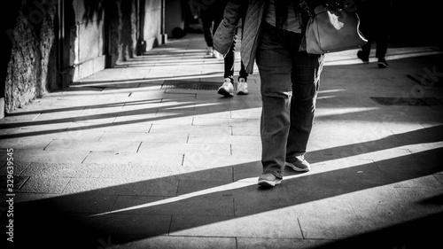 piernas calle