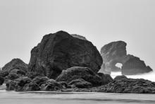 Weathered Sea Stacks