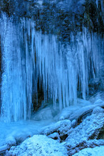 Icicle On A Rock, Bohinj Valley