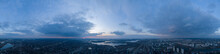 A Huge Panorama From The Air I...