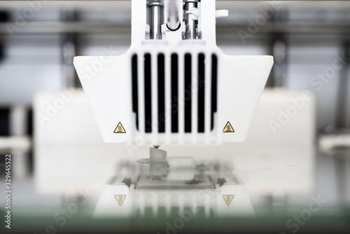 3D Drucker, neue Fertigungsmethoden Canvas Print
