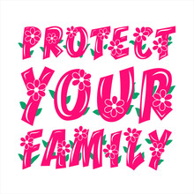 Protect Your Family Poster As ...