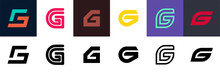 Set Of Letter G Logo. Icon Des...