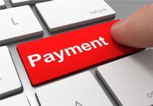 Payment Push Button Concept 3d...