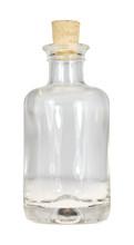 Kleine Durchsichtige Glasflasc...