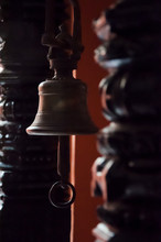 Small Traditional Bell At A Te...