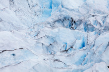 Detail Of The Ice Field At Per...