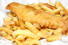 Fish And Chips From An English...