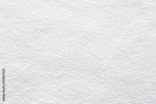 Photo Fresh snow background - close-up of clean, rough snow texture