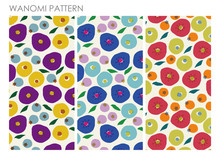 RETRO NORDIC PATTERN /Floral S...
