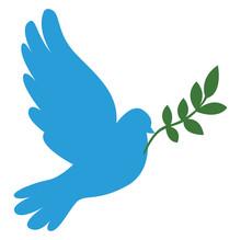 Blue Dove, Illustration, Vecto...