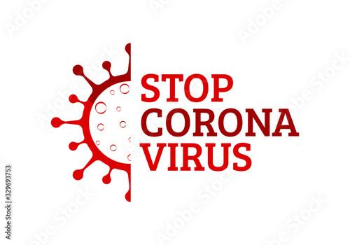 Coronavirus (Covid-19) Wallpaper Mural