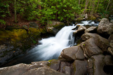 One Of Countless Waterfalls On...