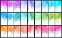 Big Set Of Light Colorful Vect...