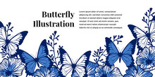 Colorful Butterfly Illustratio...