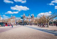 The Rijkmuseum And Its Gardens...
