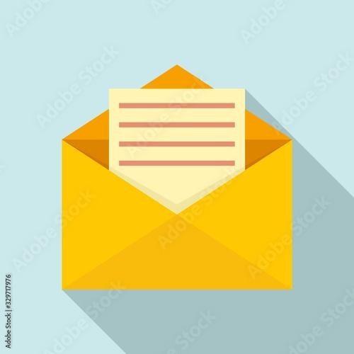 Cuadros en Lienzo Mail letter icon