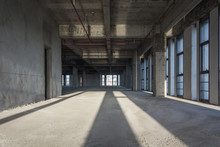 The Modern Empty Business Building