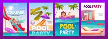 Kids Aquapark Pool Party Banne...