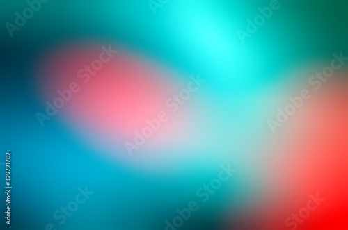 Fototapeta Colorful Gradient Mesh Background. Trendy Overlay Multi Color Combination of soft Colors. Beautiful bright desktop Wallpaper. Digital modern design smooth graphic abstract colorful beautiful art obraz na płótnie