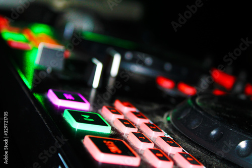 Photo Dj Mixing Table