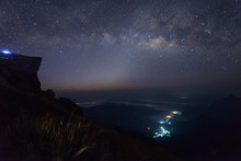 The Scenery Of The Milky Way O...