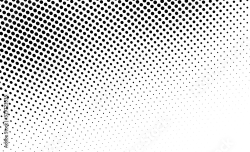 Abstract monochrome halftone texture Canvas-taulu