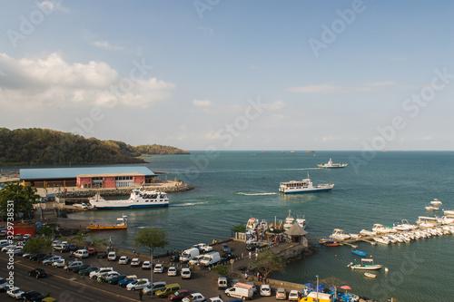 Fotografie, Obraz Port de Grande Terre à Mayotte.