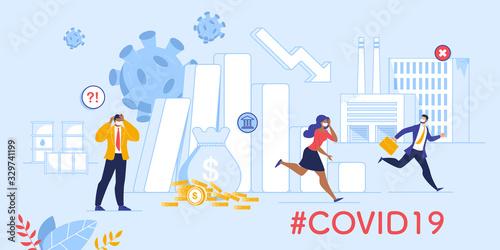 Fotomural Coronavirus Influence on Global Market and Economy