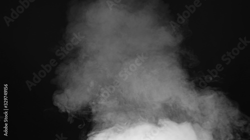 smoke , vapor , fog - realistic smoke cloud best for using in composition, 4k, u Canvas Print