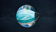 The Planet Earth Is Wearing A ...