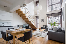 Stylish Two-floor Apartment Wi...