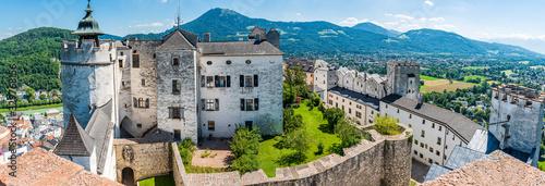 Fototapeta premium Twierdza Hohensalzburg w Salzburgu