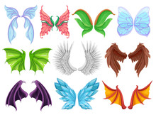 Mythical Animal Wings Set, Dec...