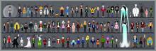Personaggi E Caricature Serie 3