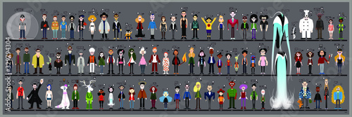 Photo Personaggi e caricature serie 3