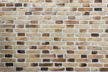 Texture Of Wall Made Of Random...
