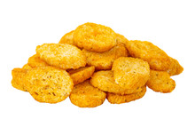Heap Of Rusks With Tomato Isol...
