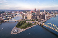 Aerial View Of Pittsburgh, Pen...