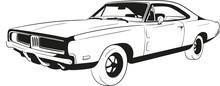 Cartoon Car, Muscle Car, Speed...